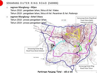 Pembangunan Semarang Outer Ringroad Masuk Segmen 7 Genuk-Meteseh