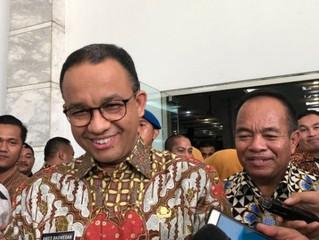 Gubernur DKI Jakarta Anies Baswedan Ajukan Proyek Infrastruktur ke Presiden Jokowi Senilai Rp. 571 T