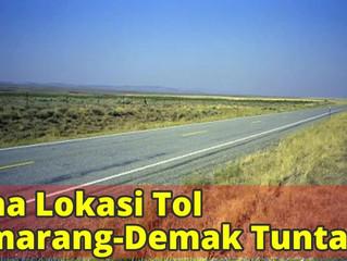 Sebagian Ruas Tol Semarang-Demak Gunakan Lahan Pesisir Pantai