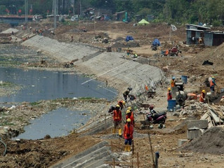 Baru 50%, Normalisasi Banjir Kanal Timur Semarang Dikebut