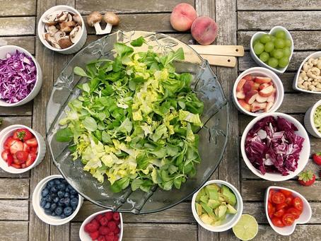 Bättre mental hälsa med frukt och grönt
