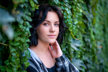 Senior Sessions in Downtown Grass Valley