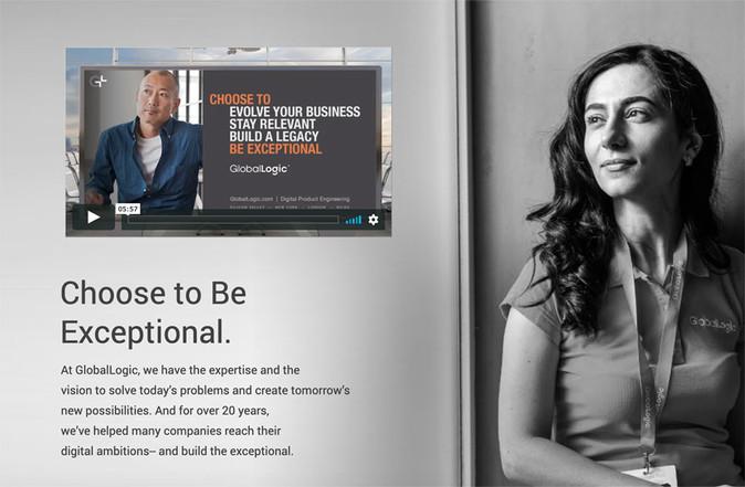 Employee campaign website