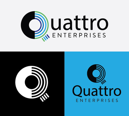 Quattro Logo Treatments