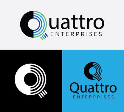 Quattro Logo Treatments