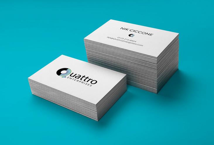 Quattro Business Cards