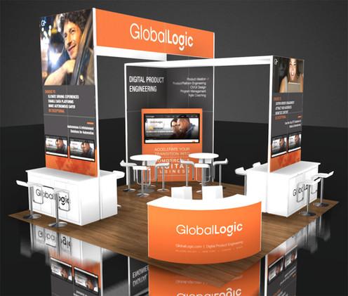 CES booth design
