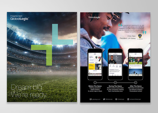 Sports media brochure