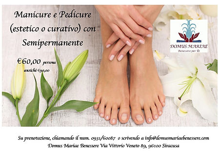 Promo MANICURE + PEDICURE SEMIPERMANENTE