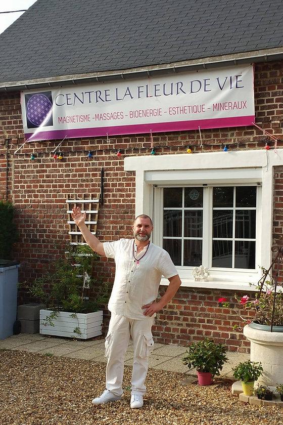 Centre la fleur de vie à Saint-Léger-en-Bray dans l'Oise.