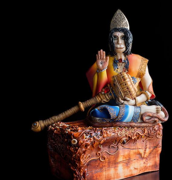 Hanuman hand made sculpture.jpg