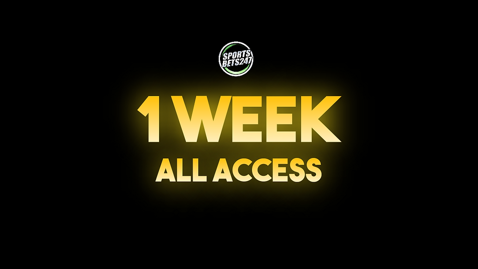 1 Week All Access