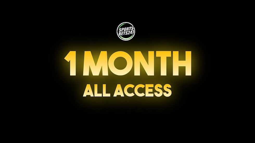 1 Month All Access