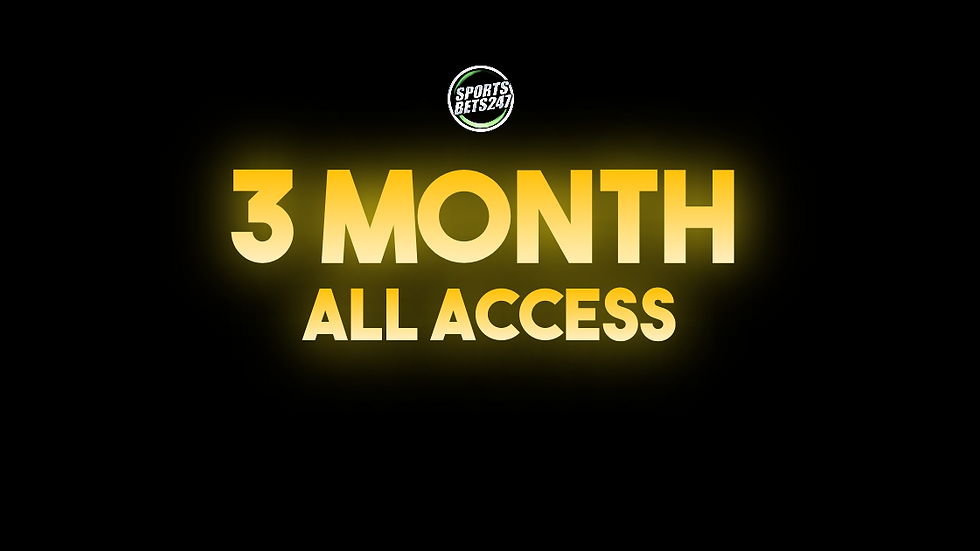 3 Month All Access