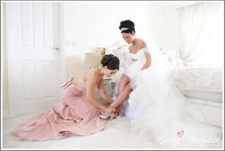 Brides & Bridesmaid