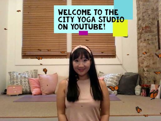 city yoga studio on YouTube