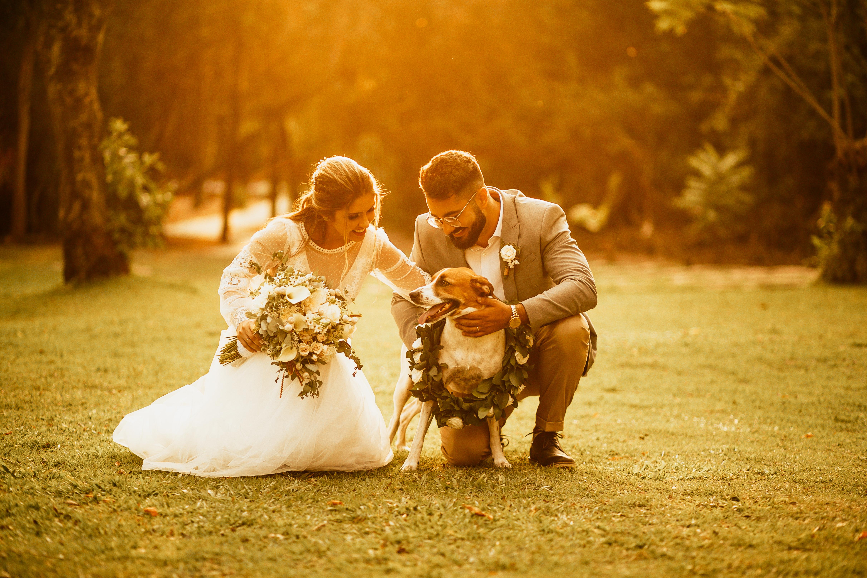 Amamos peludos no casamento!