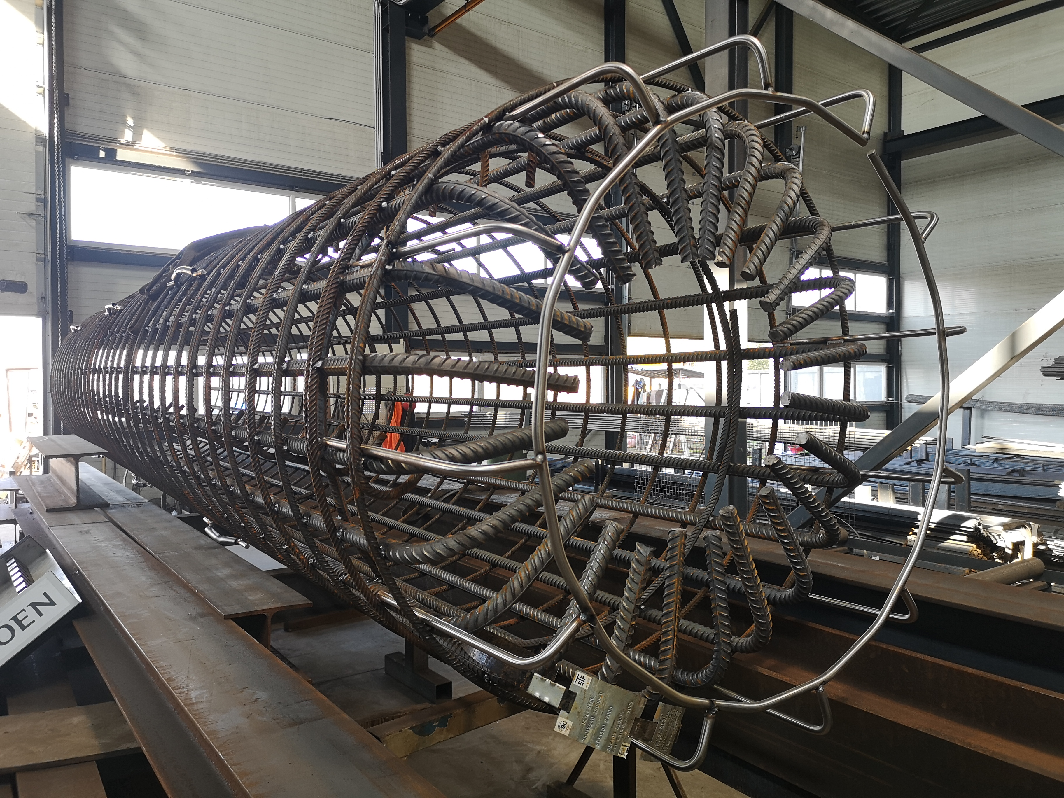 Pile cages