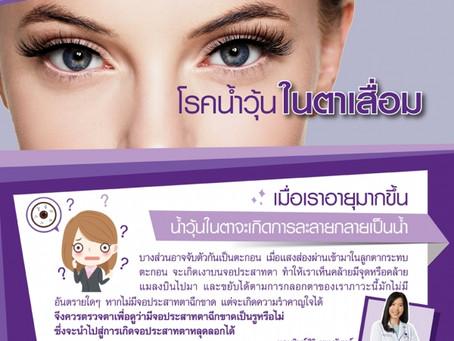 โรคน้ำวุ้นในตาเสื่อม (Vitreous Degeneration)