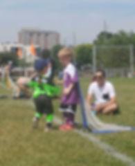 Active Start Soccer at Bannockburn