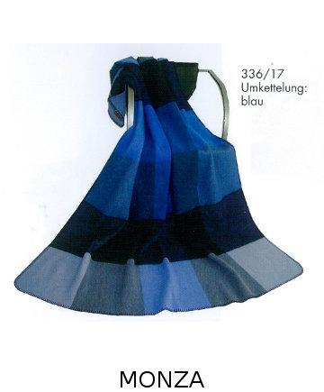 Monza Tolle Decke aus 100% Schurwolle von Steinbeck