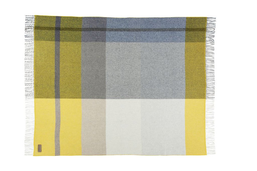 """Plaid aus 100% Lambswool """" Dundee """""""