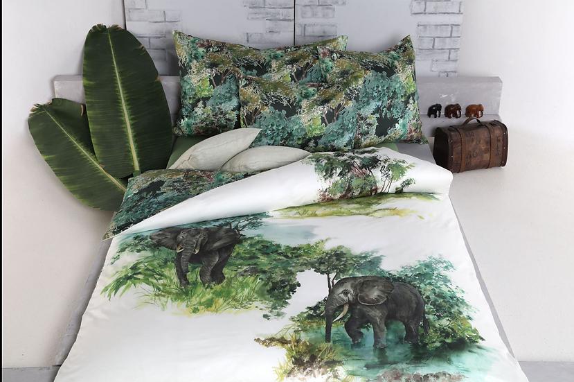 Safari Baumwoll-Satin