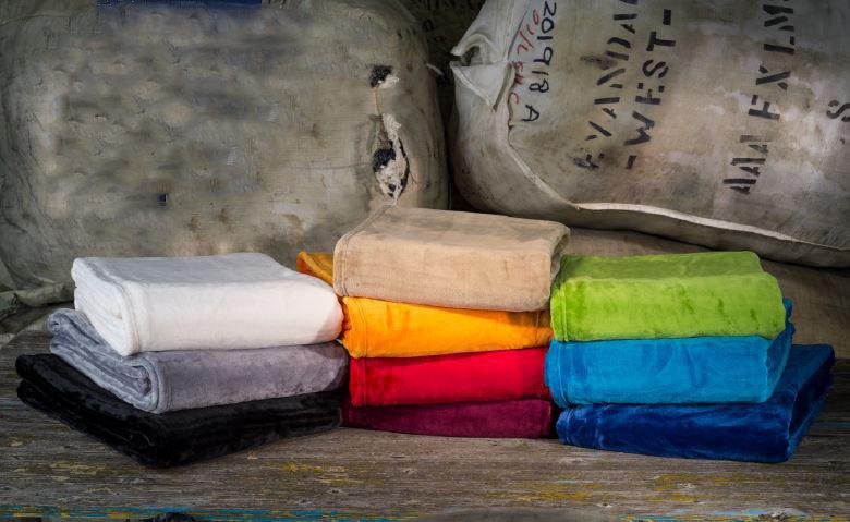 Seidenfeeling-Decke «Silky», 150x200cm