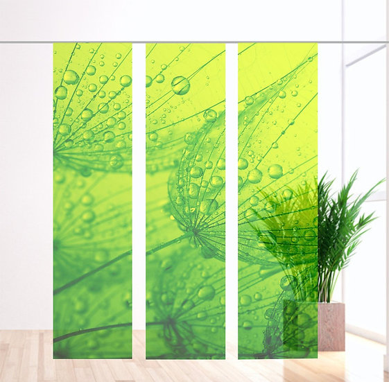 Dream green Flächevorhang 3er