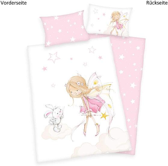 """Kinderbettwäsche """" Fairy"""" 100x135/40x60cm"""