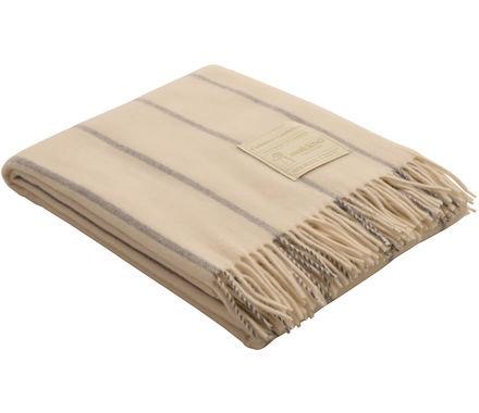 Luxeriöse Wohndecke aus 50% Kaschmir /50% Lambswool