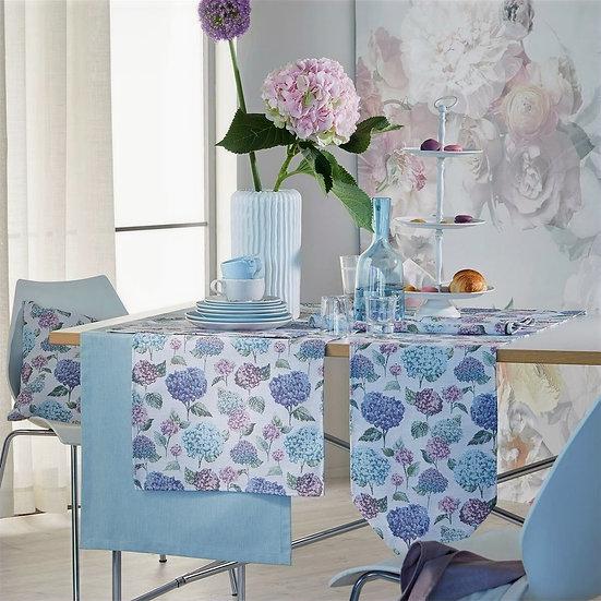 Apelt Hortensienblüten  Tischband 21x175cm