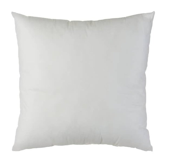 Kisseninlett 40x40cm synth.