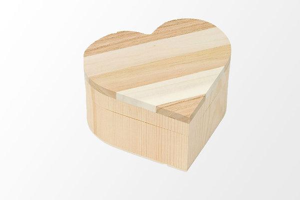 Gutschein mit Holzherz