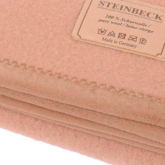 Honef 100% Schurwolle-Decke von Steinbeck