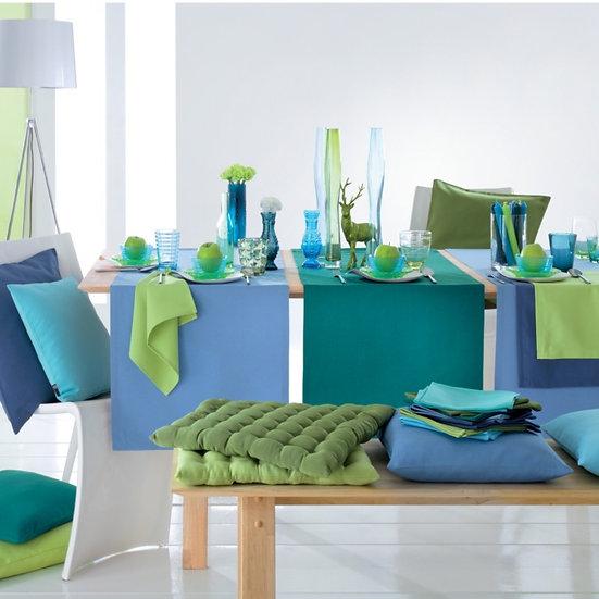 Tischläufer  uni in 12 Farben