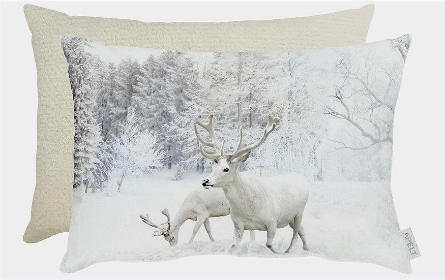 Kissen Hirsche 35 cm x 45 cm