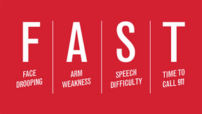 Acting F.A.S.T - Stroke Awareness Month