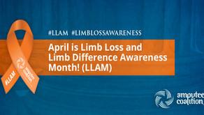 April is Limb Loss Awareness Month