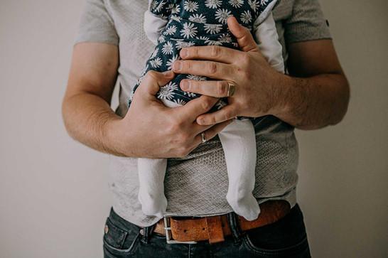 papa's handen