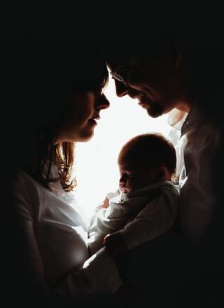 silhouet newborn