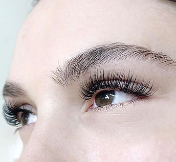 """Lashes by Tea. She chose the """"Natural Sw"""