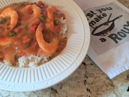 Shrimp Etouffee Rozie