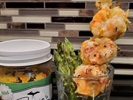 Marinate and Grill Shrimp