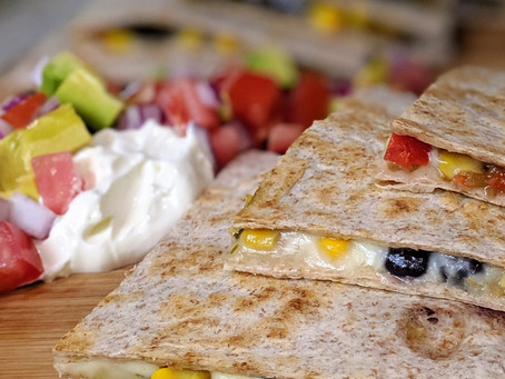 Meatless Monday Quesadillas