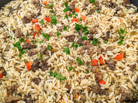 Dirty Spicy Rice