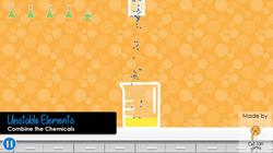 Unstable Elements Combine Chemicals