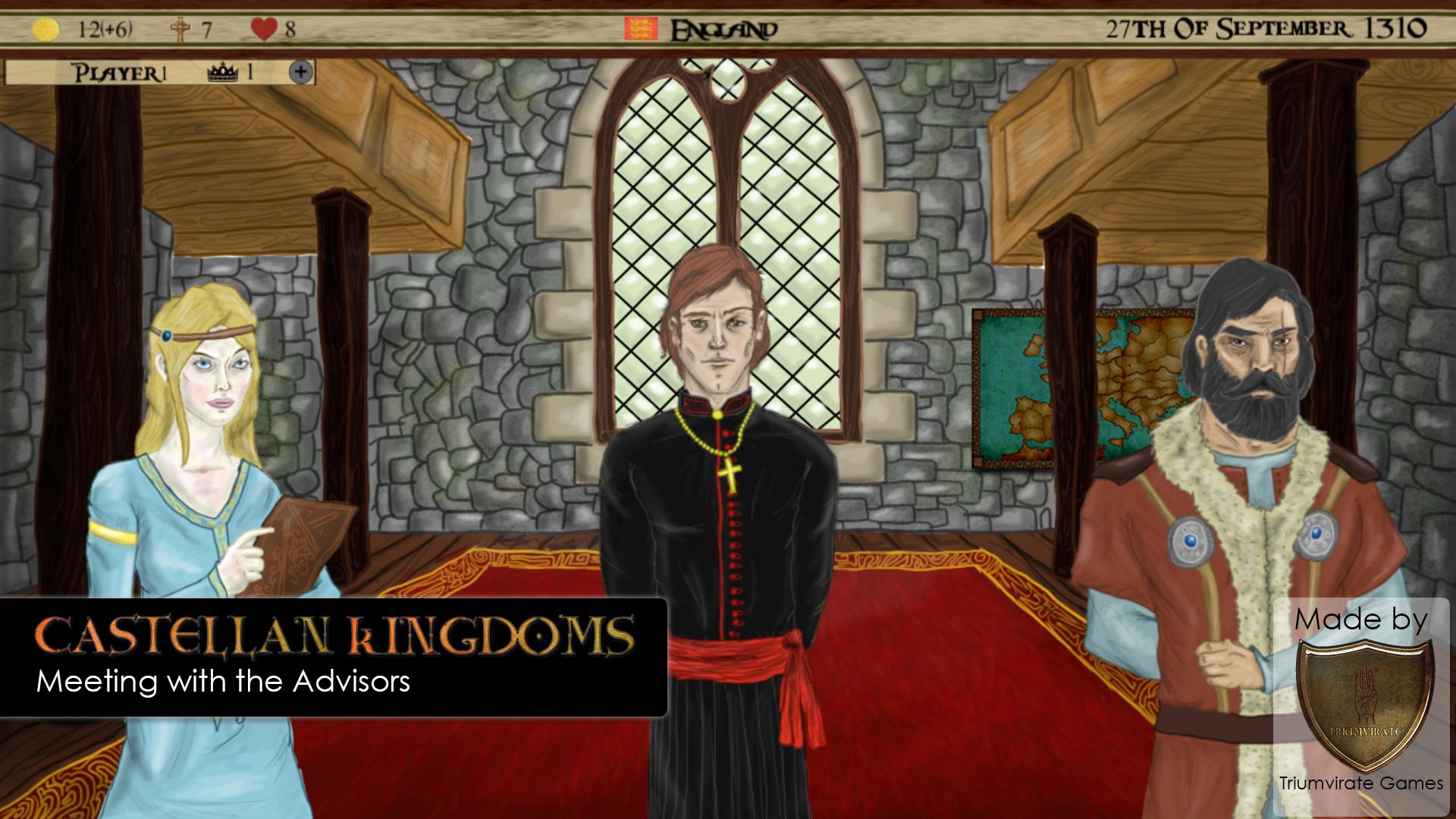 Castellan Kingdoms advisors