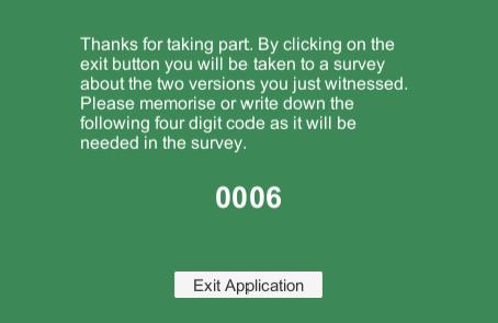 Survey Complete