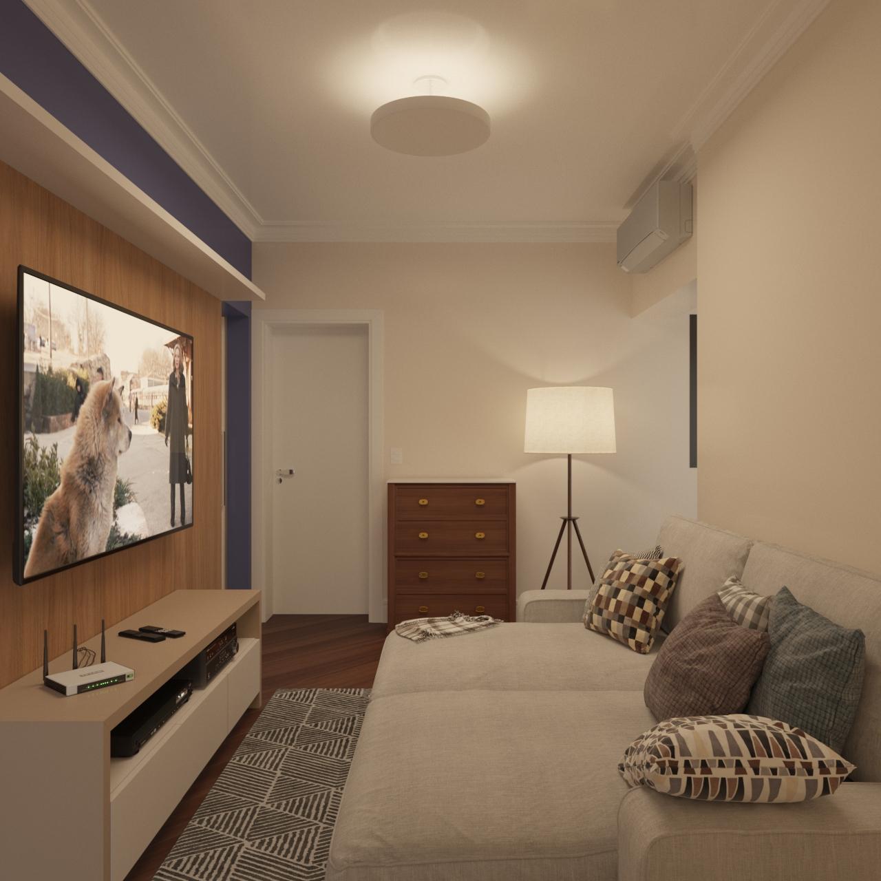 Sala de TV - APTO AGF